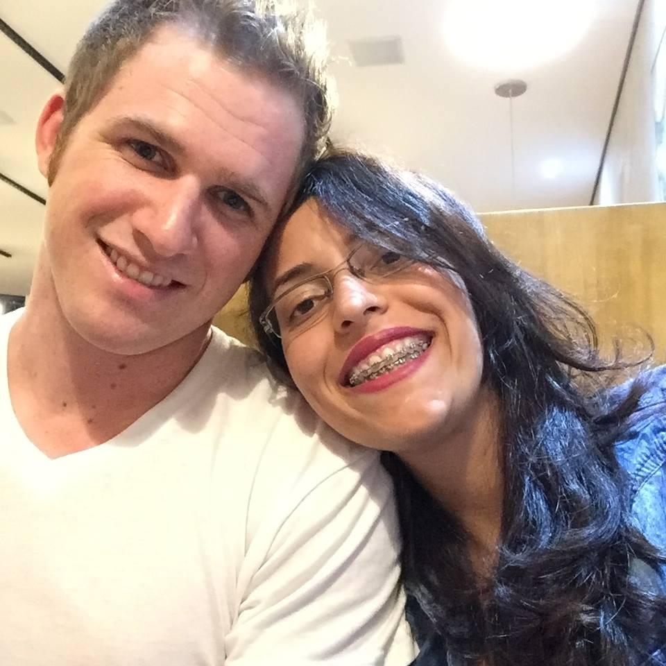 Priscila e Garrett